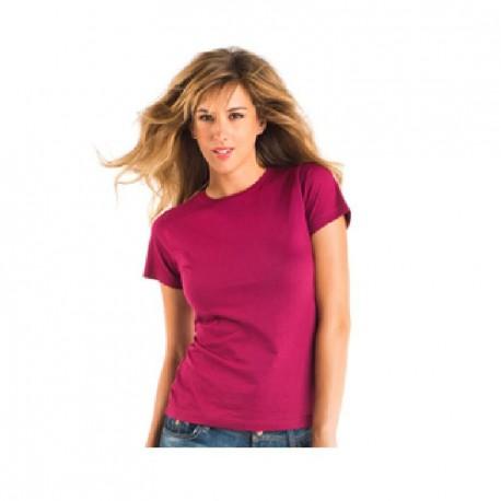 Camiseta mujer colores manga corta