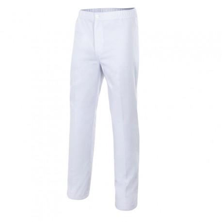 Pantalón pijama con cierre de botón y cremallera