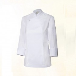 Chaqueta de cocinera top chef