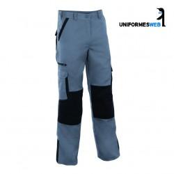 Pantalón reforzado bicolor