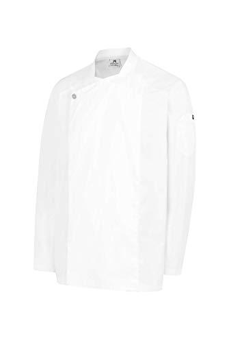 Chaqueta Hostelería Unisex De Manga Larga. Color Blanco. Ropa Cocina/Cocinero/Cocinera/Chef. Talla XL. Ref: 4123