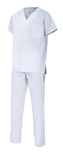 Velilla 800/C7/T2 Conjunto Pijama, Blanco, 2