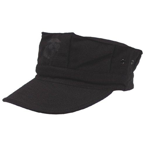 Gorra de estilo marine americano, hombre, color negro - negro, tamaño XL