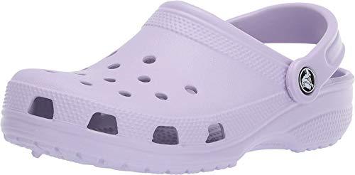 Crocs Classic, Zuecos Unisex Adulto, Lavender, 39/40 EU