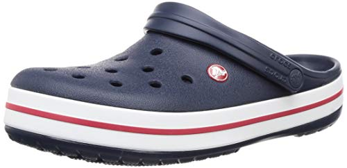 Crocs Crocband, Zuecos Unisex Adulto, Azul (Navy), 41/42 EU