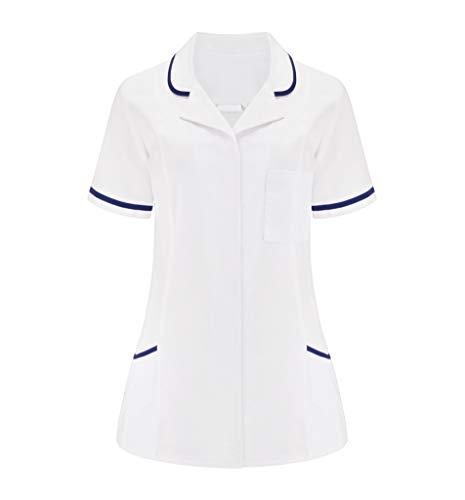 NYS NEW YORK STYLE Uniforme de Nightingale para mujer, de manga corta, para enfermera, veterinario, salón de belleza