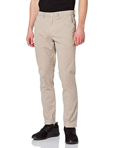 Calvin Klein Jeans Washed Slim Chino Pant Pantalones, Cuerda, 36W / 32L para Hombre