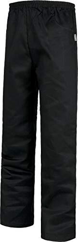 Work Team Pantalón con elástico en cintura, sin bragueta y con 2 bolsillos laterales. HOMBRE Negro L