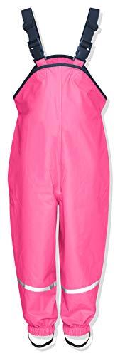 Playshoes Regenlatzhose, Pantalones para Niños, Rosa (Pink), 3-4 años/104 cm