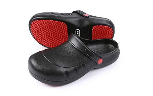 Zapatos de Trabajo Muy cómodos para Trabajos de hostelería y no resbalan-Unisex-Adulto