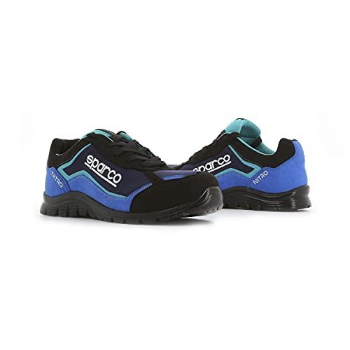 Sparco - Zapatillas Nitro S3 Black/Azul talla 43