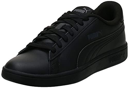 PUMA Smash V2 L, Zapatillas Unisex Adulto, Negro Black Black, 44 EU