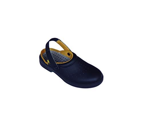 Imperges Zuecos Sanitarios de Trabajo SafeWay E103 • Suela de Goma • Zapatos para Enfermería Y Hostelería