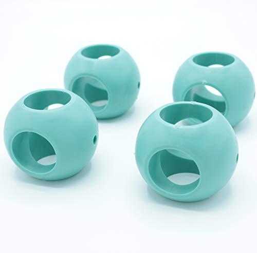 FISHTEC Bola Magnética Antical - Lote de 4 (2 Lavavajillas + 2 Lavadora) - Bola de lavado ecológica sin detergente