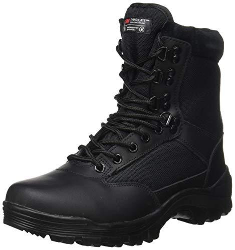 Botas Mil-Tec Tactical con cremallera YKK, para trekking, de montaña, disponible en varios modelos, color, talla 42/ UK 9