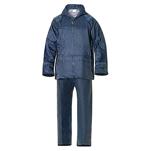 WOLFPACK LINEA PROFESIONAL 15010015 Traje de Agua Impermeable Azul Nylon Talla 7-L
