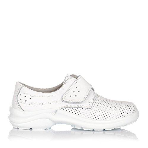 LUISETTI Berlin 0025 Zapato Sanitario Y HOSTELERIA Unisex-Adulto Blanco 38
