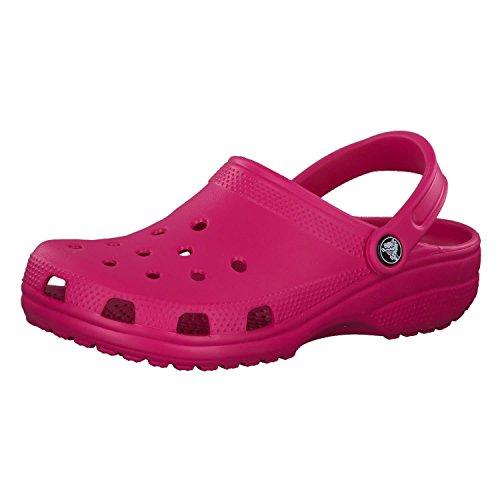 Crocs Classic, Zuecos Unisex Adulto, Candy Pink, 37/38 EU