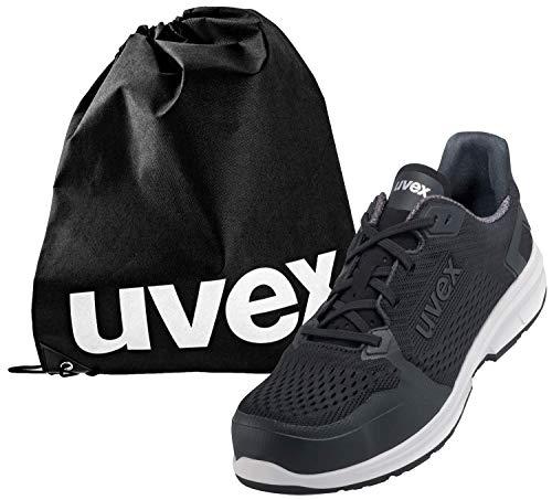 Uvex 1 Sport - S1 6598 - Zapatos de Trabajo para Hombres y Mujeres - con Bolsa