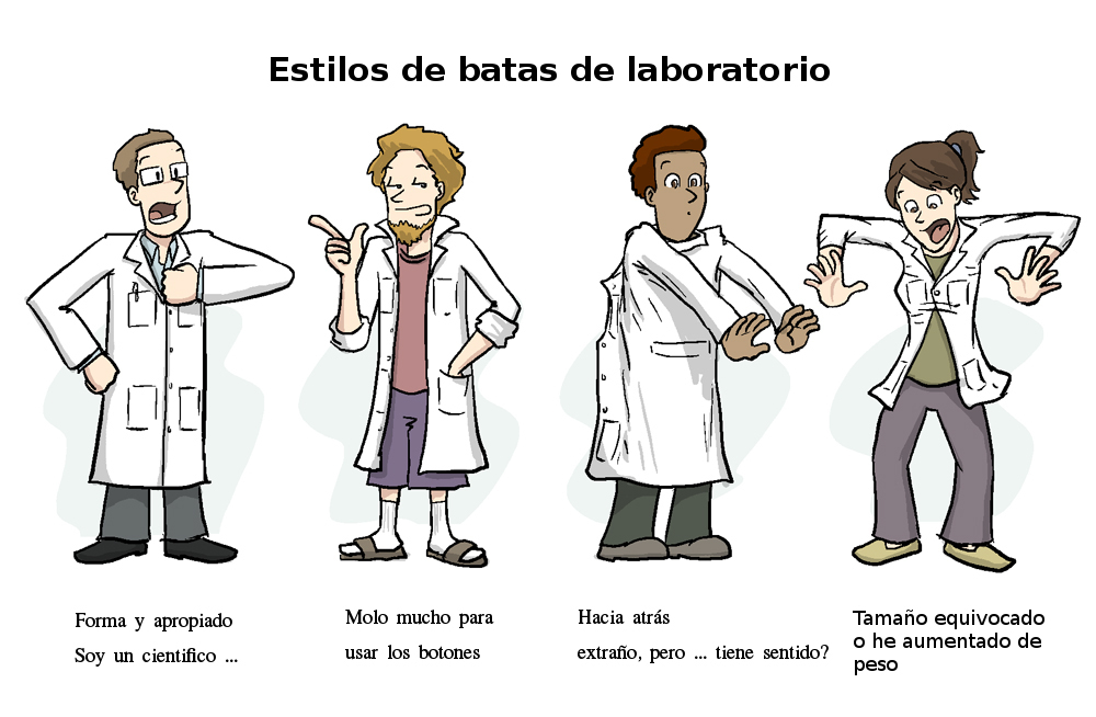 bata de laboratorio