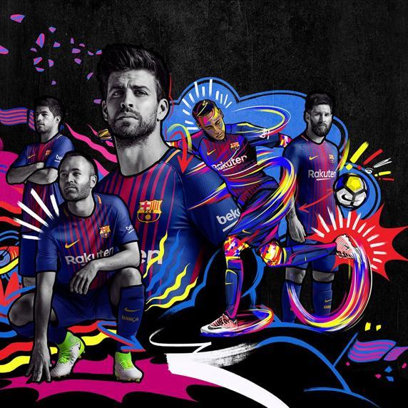 camiseta del Barça 2017-18