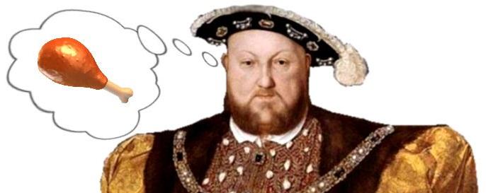 Rey enrique VII era muy comilon