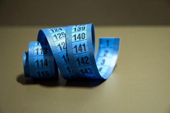 metro de sastre para medir talla cliente