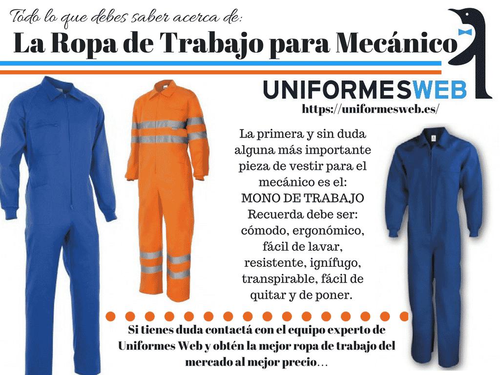 Ropa De Trabajo Para Mecanicos Como Elegirla Uniformes Web
