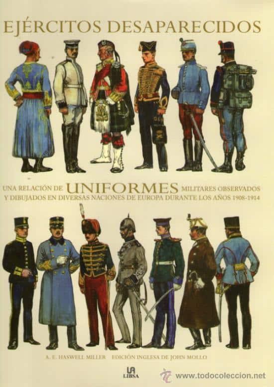 uniformes en el ejercito