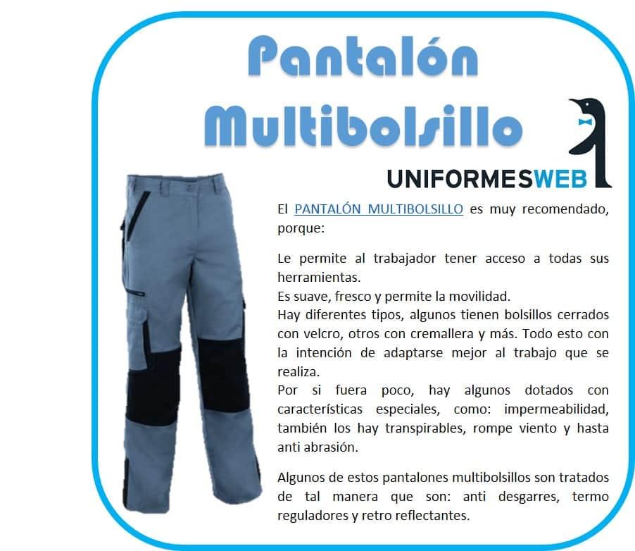 pantalon multibolsillo