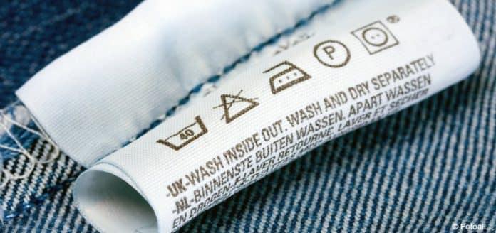que significan las etiquetas de la ropa