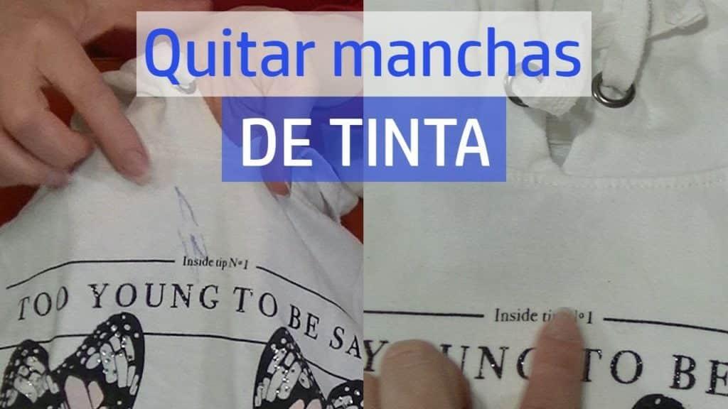 Cómo quitar las manchas de tinta fresca de su ropa