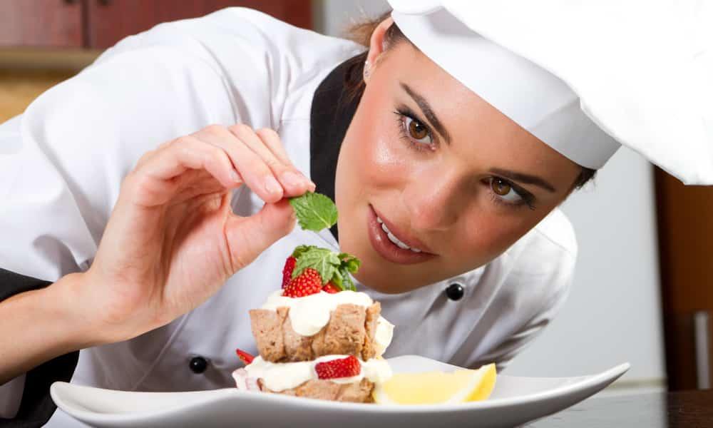 gorro chef mujer