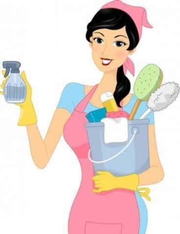Ropa de trabajo de limpieza
